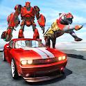 Tiger Robot Transforming Game icon
