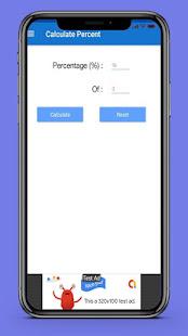 App Percent Calculator App 2019 APK for Windows Phone