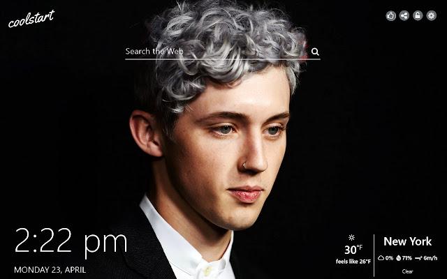 Troye Sivan HD Wallpapers Social New Tab