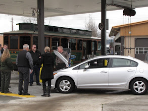 Photo: Lithia Honda brought this CNG Civic priced at $25,000 and includes $2,000 worth of CNG.