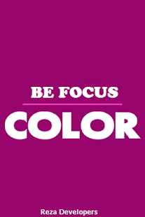 Be Focus Color - náhled
