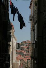 Photo: Narrow streets inside Dubrovnik old town