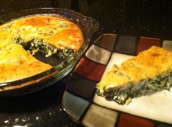 Impossible Spinach Pie...my Way