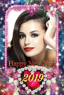 Happy New Year Photo Frame 2019 Screenshot