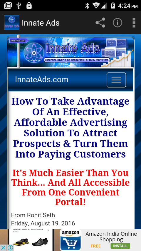 Innate Ads- screenshot
