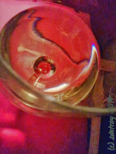 Photo: I enjoy abstraction, reflection, some wine.