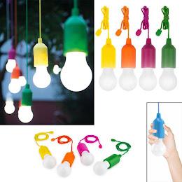 Set 4 becuri cu LED fara fir Handy Lux