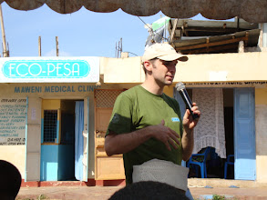 Photo: Aug - 20 - Outreach . This is me trying to remember Kiswahili