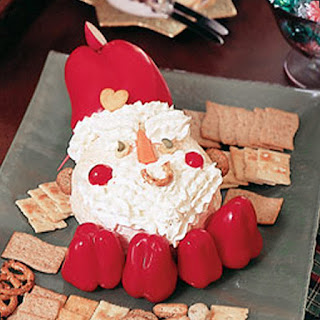 Santa Cheese Ball