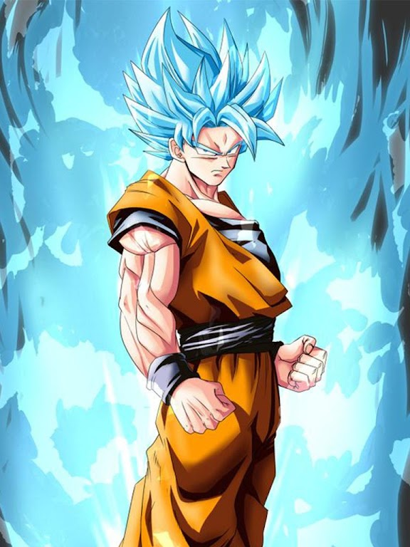 Descargar Goku Super Saiyan God Blue Wallpaper Apk última