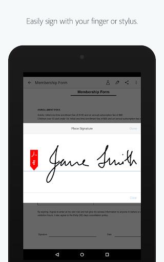 Adobe Fill & Sign: Easy PDF Doc & Form Filler. 1.5.0 Apk for Android 13