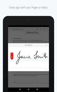 Adobe Fill & Sign- screenshot thumbnail