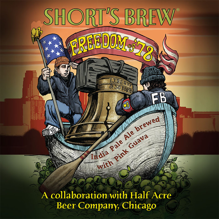 Logo of Short's / Half Acre Freedom Of '78