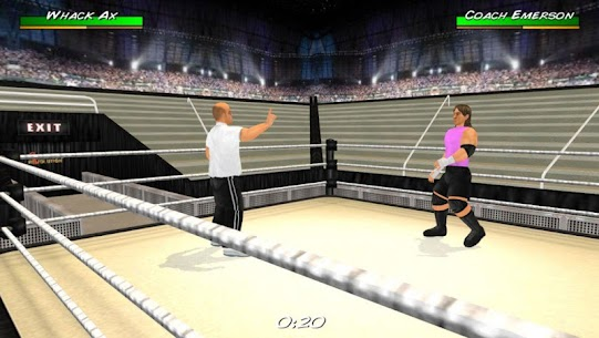 Wrestling Revolution 3D App Download For Android and iPhone 6