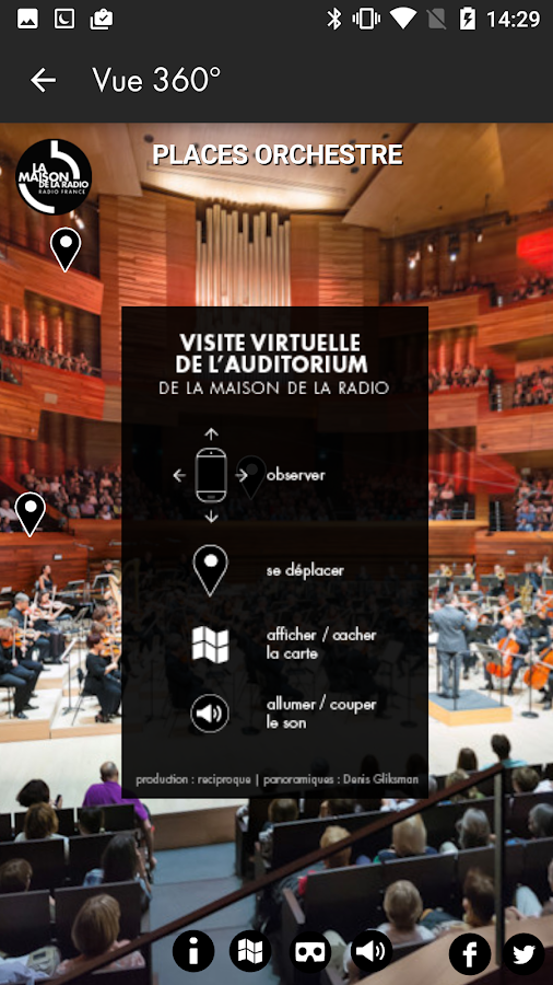 Maison de la radio- screenshot