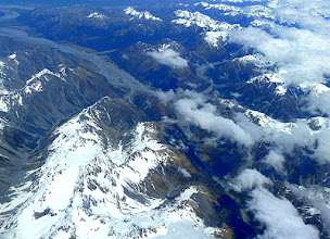 Photo: Snow Capped mountain at Christchurch