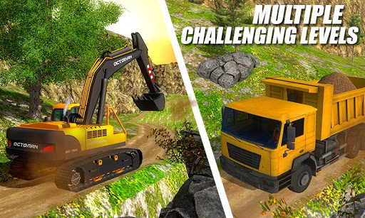 Heavy Excavator Crane - City Construction Sim 2017  screenshots 2