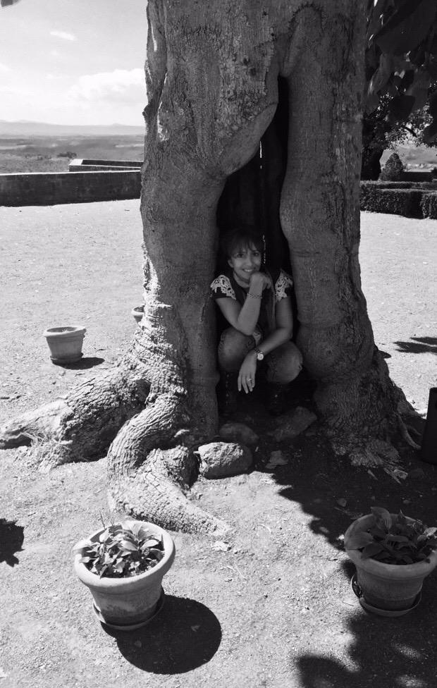 ...dentro l'albero fuori al giardino... di holiverroma