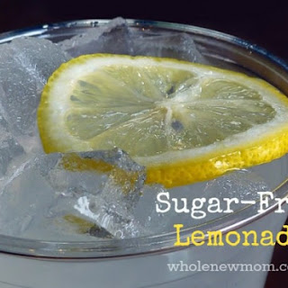 Homemade Sugar-Free Lemonade