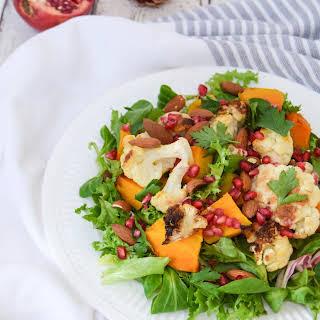Autumn Rainbow Salad.