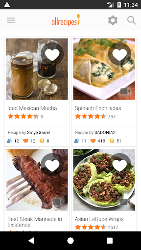 Allrecipes Dinner Spinner screenshot