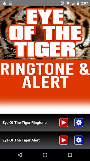 Eye of the Tiger Ringtone