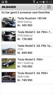 BilBasen – køb brugte biler - screenshot thumbnail