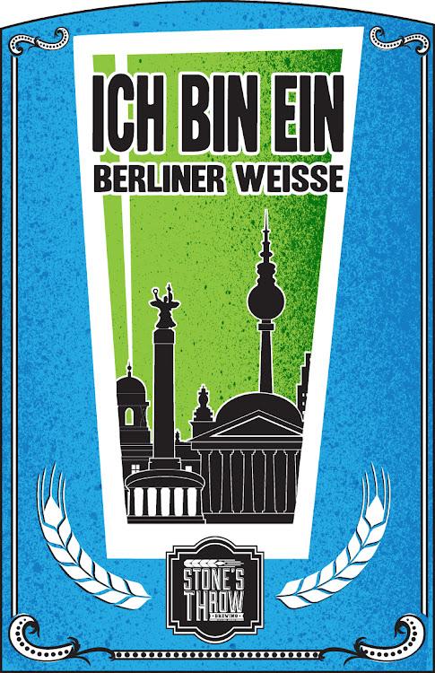 Logo of Stone's Throw Ich Ben Ein Berliner Weisse