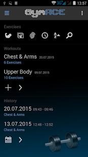 GymACE Pro: Workout & Body Log - náhled