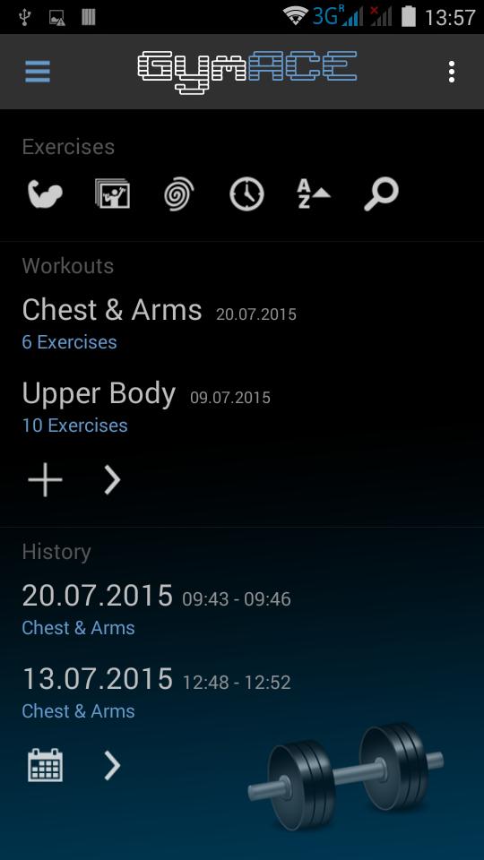 GymACE Pro: Workout Tracker & Body Log Screenshot 0