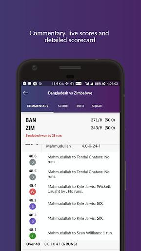 Cricket Line Guru : Fast Live Line screenshots 6