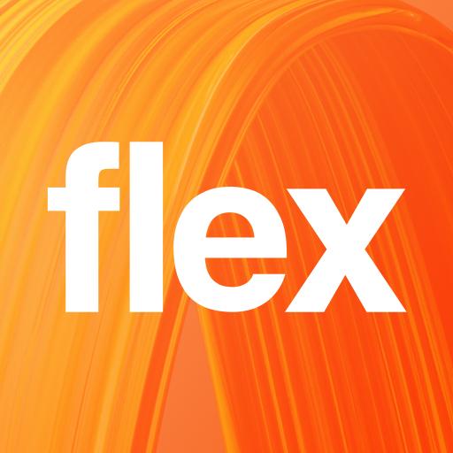 Orange Flex App Icon