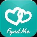 Fyndme爱APP-找到朋友。结识新朋友,调情,鲜活的生命 icon
