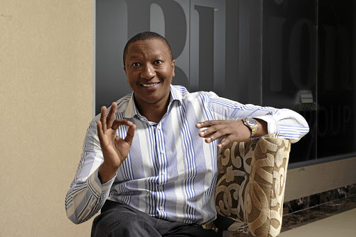 Sisa Ngebulana founder of the Billion Group. Picture: RUSSELL ROBERTS