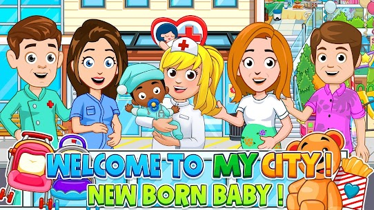 My City : Newborn baby 1