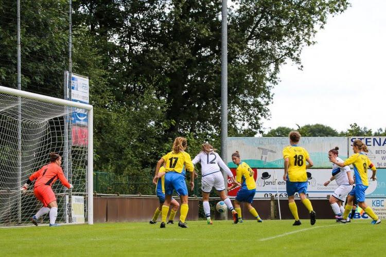 Wat gebeurde er in de tweede nationale van het vrouwenvoetbal?