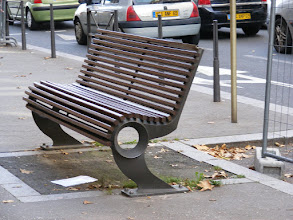 Photo: ...and benches