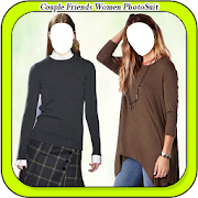 Couple Friends Women PhotoSuit
