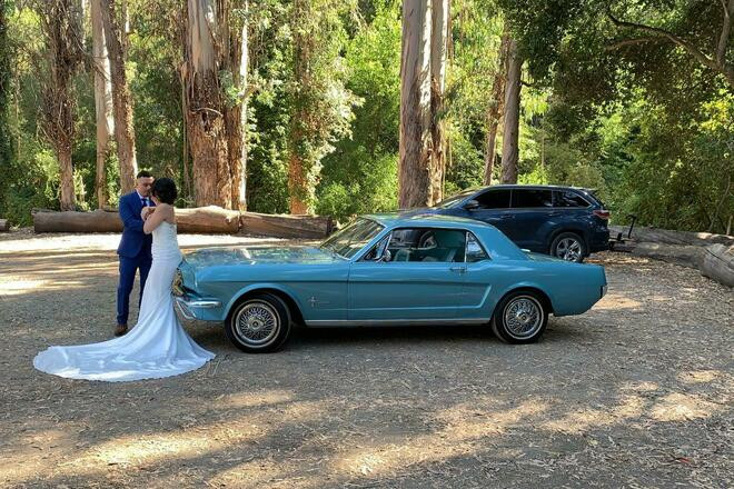 1966 Ford Mustang for weddings, photo-shooting and modeling Hire California