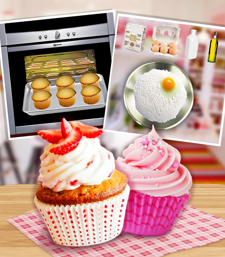 Strawberry Short Cake Maker!- screenshot