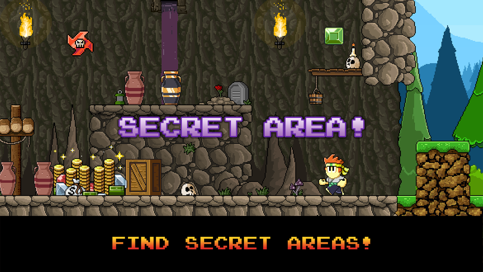 Dan the Man: Action Platformer- screenshot