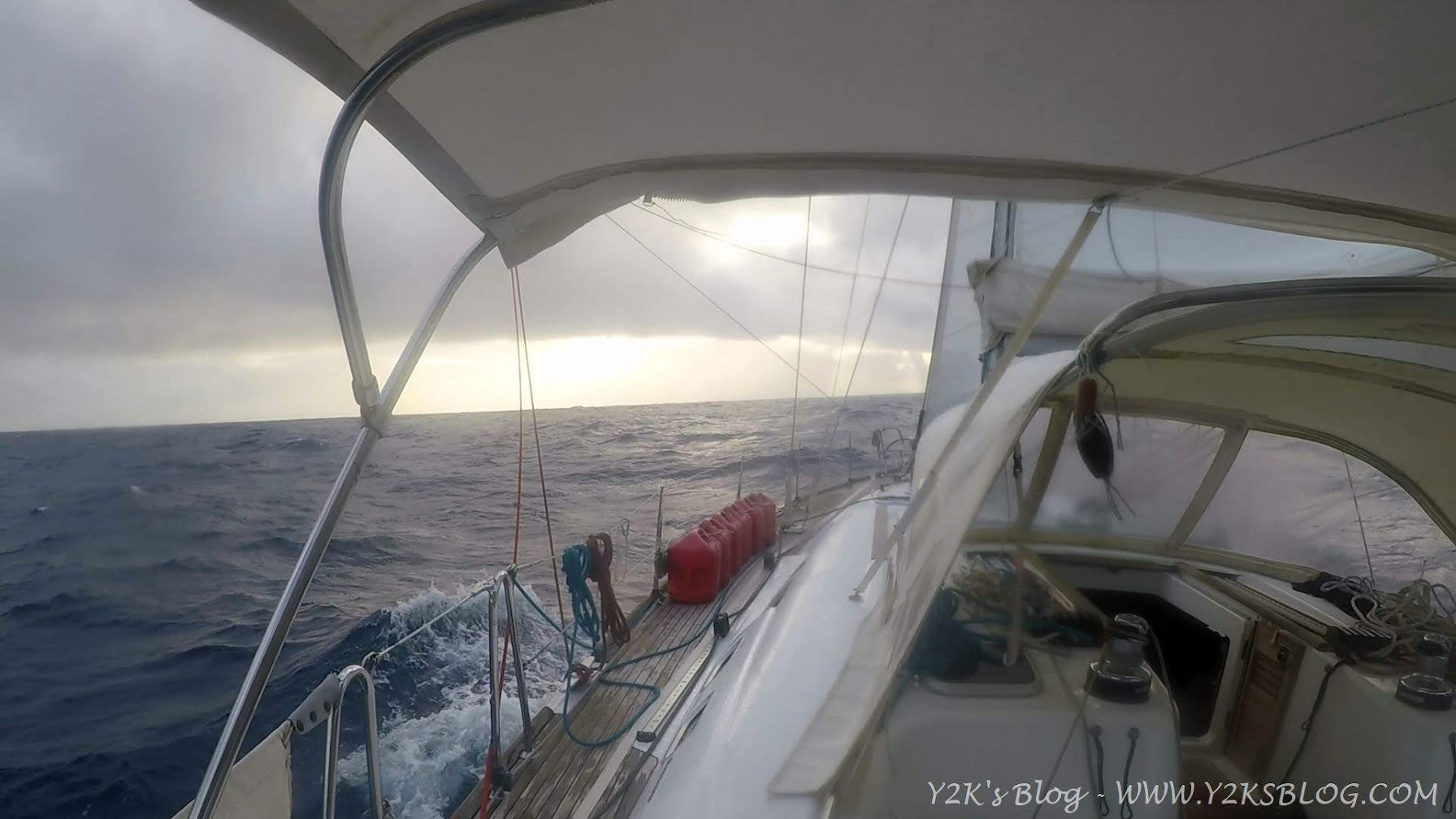 In navigazione verso Palmerston - Giorno 1