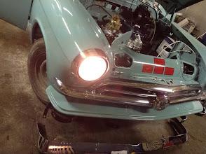 Photo: headlights hook-up