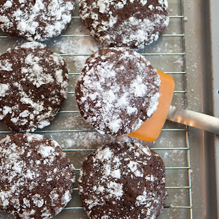 Brownie Krinkle Cookies