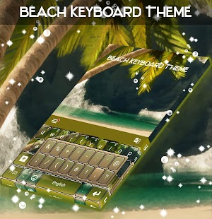 Beach Keyboard Theme- screenshot thumbnail