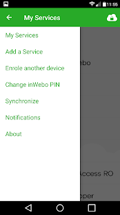 InWebo Authenticator- screenshot thumbnail