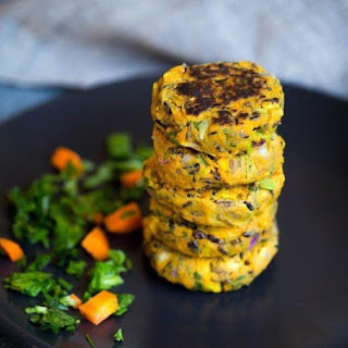 Sweet Potato and Black Rice Veggie Patties