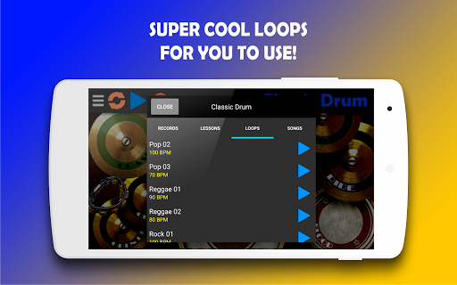 Classic Drum - The best way to learn drums! 6.7 Screenshots 4