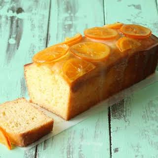 Orange Yogurt Cake.