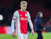 Het lijkt erop dat Donny van de Beek zijn laatste wedstrijd voor Ajax gespeeld heeft